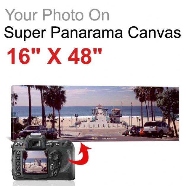 "Super Panorama 16"" X 48"""