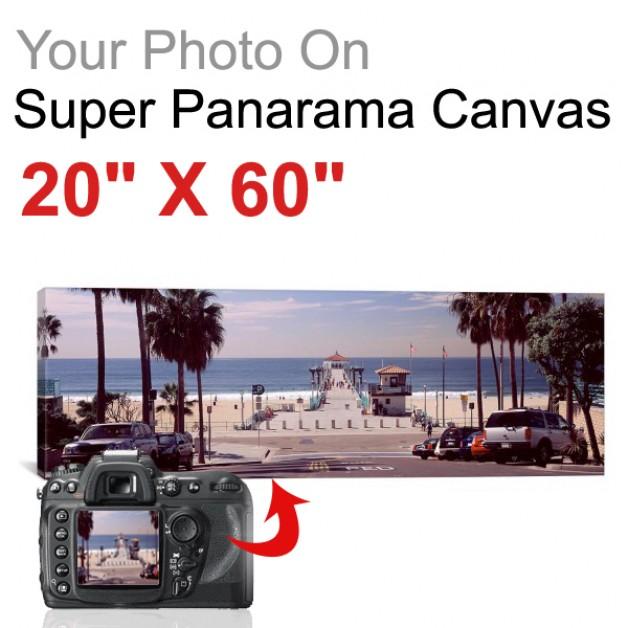"Super Panorama 20"" X 60"""
