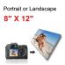 Canvas Print Landscape/Portrait  8x12