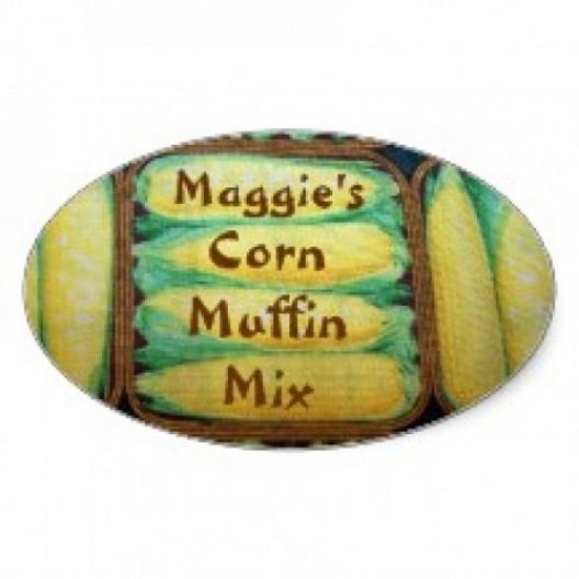 Oval High Gloss Fridge Magnet