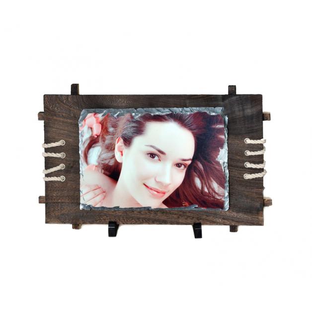 Photo Slate Framed