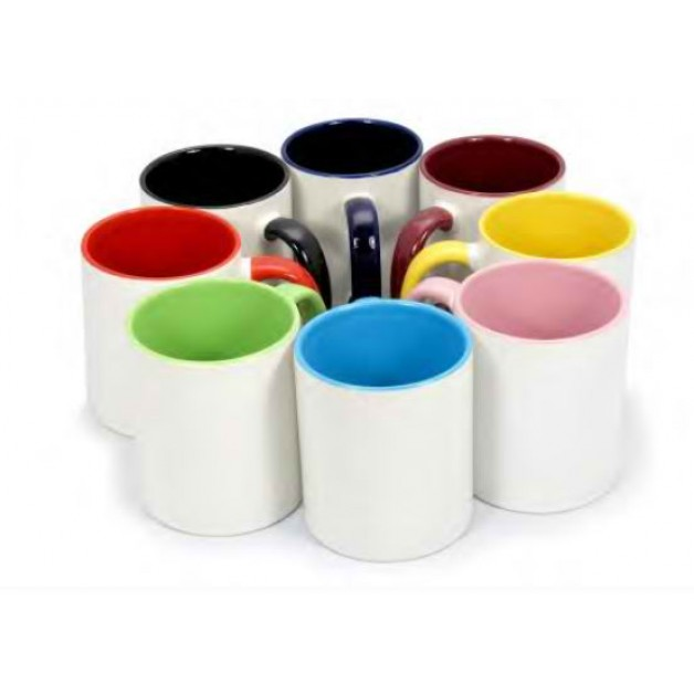 Ceramic Inner Coloured Mug