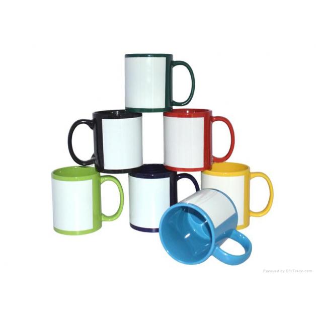 Coloured Personalised Mug