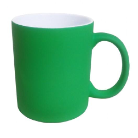 Personalised Nitro Fluorescent Green Mug