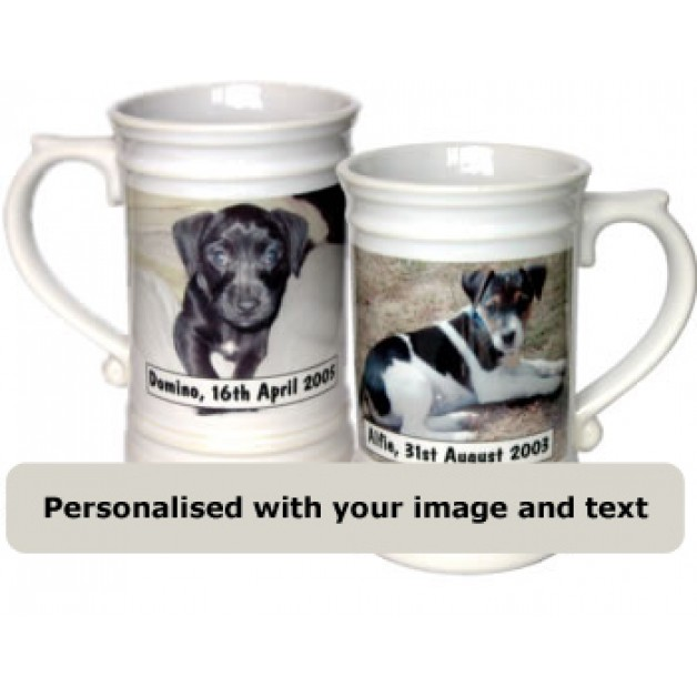 Personalised Ornate Beer Stein