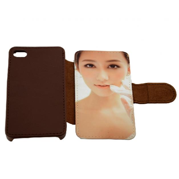 Iphone 5/5s Leather Flip case