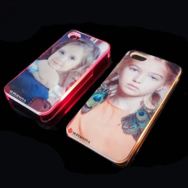 Iphone 5/5s LED flashing case