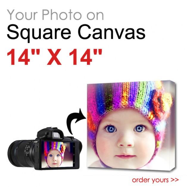 Canvas Print Square 14 x 14