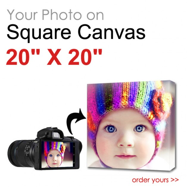 Canvas Print Square 20 x 20