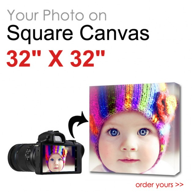 Canvas Print Square 32 x 32