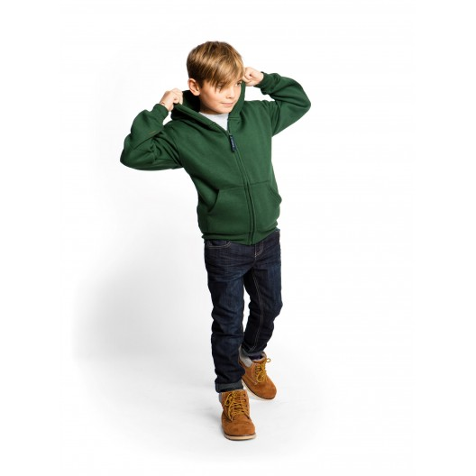 Childrens Classic Full Zip Hooded Sweatshirt