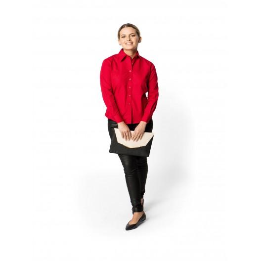Ladies Poplin Full Sleeve Shirt
