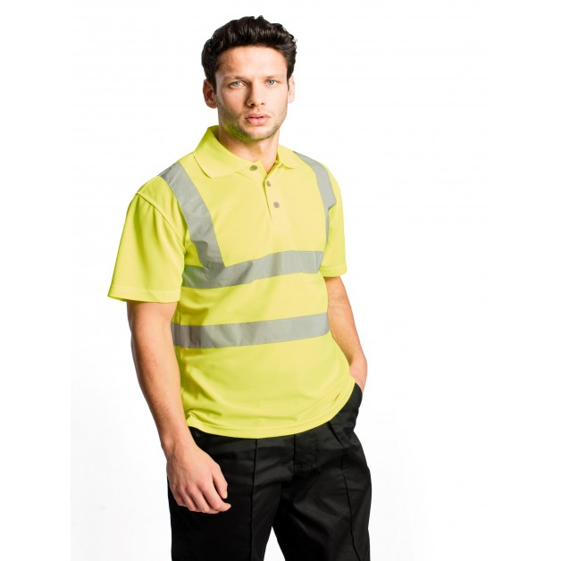 Hi-Viz Polo Shirt